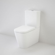 Luna Square Cleanflush® Wall Faced Toilet Suite