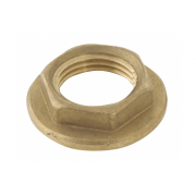 Spartan Backnut Standard Flanged 40mm Brass DR - BN40