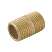 Spartan Barrel Nipple 15mm x 90mm Long Brass DR - NB1590