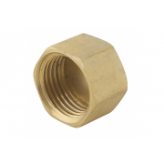 Spartan Blind Cap 32mm Brass DR