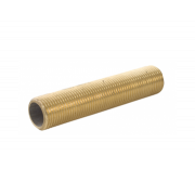 Spartan Threaded Nippling Tube 15mm x 600mm Brass DR - NT15