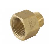 Spartan M & F Hexagon Reducing Socket 10mm x 6mm Brass DR - SMF1006