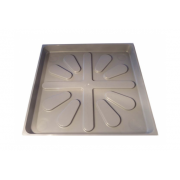 Aqualine Hot Water Cylinder Tray 540 540mm x 540mm O/Diameter - CYLTRAY