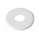 Aqualine White Wall Flange Plastic 15mm BSP  - FL15B
