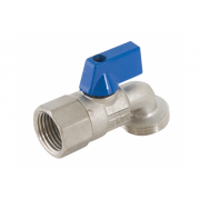 Aqualine Dishwasher Tap Female Blue 20mm x 15mm - DWFB