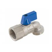 Aqualine Dishwasher Tap Male Blue 20mm x 15mm - DWMB