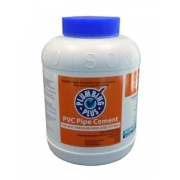 PVC Pipe Cement Clear 4LT - 021810