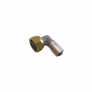 "Buteline Female Swivel Elbows - 1/2"" BSP x 12mm"