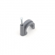 Buteline Nail Pipe Clips - 28mm