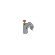 Buteline Metal Screw Pipe Clips - 18mm