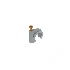 Buteline Metal Screw Pipe Clips - 18mm
