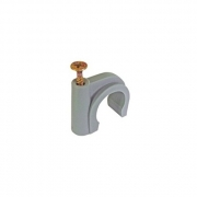 Buteline Metal Screw Pipe Clips - 28mm