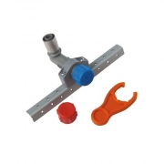 "Buteline BUTE-1 Adjustable 1/2"" BSP x 15mm x 70mm Male Wall Elbows"