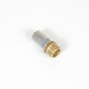 """Buteline Brass Male Adaptors - 1/2"""" BSP x 15mm"""