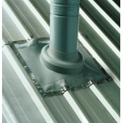DLM Dektite Soaker Flashings Grey EPDM 114-254mm Pipe Size - DF603