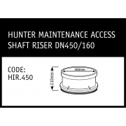Marley Hunter Maintenance Access Shaft Riser DN450/160 - HIR.450