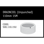 Marley DrainCoil (Unpunched) 110mm 15M - 500.110.15U
