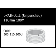 Marley DrainCoil (Unpunched) 110mm 100M - 500.110.100U
