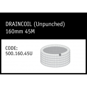 Marley DrainCoil (Unpunched) 160mm 45M - 500.160.45U
