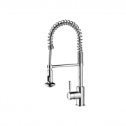 Minimalist Spring Pull Down Sink Mixer with Twin Action Spray