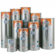 Silver Bullet 90L Mains Stainless Electric Cylinder Single Inlet 485w x 940h 3kW