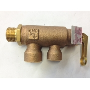 "Reliance High Pressure Expansion Non-Return Valve Restricted 15mm (1/2"") - HPNR501"