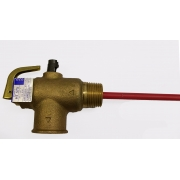 "Reliance High Pressure and Temperature Relief Valve with 3/4"" 20mm 1400kPa - HT711"