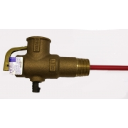 "Reliance High Pressure and Temperature Relief Valve with 3/4"" 20mm 1000kPa with 1"" Extension- HTE703"