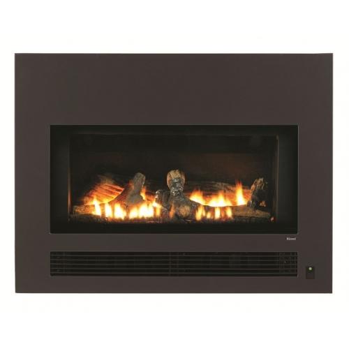 arriva 750 flat front gas fireplace rh plumbingplustrade co nz flat gas fireplace logs flat wall gas fireplace