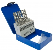 Benz Drill Bit Set - 19pc boxed - HSS 1-10mm