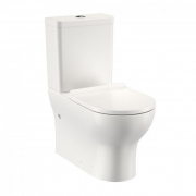 Round Back To Wall Toilet Suite